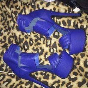 Sexi blue heels